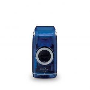 Braun MobileShave M-60 Portable Mens Shaver  (Transparent Blue)