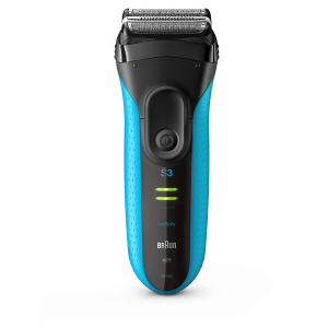 Braun Series 3 ProSkin 3040s Wet & Dry Mens Electric Shaver (Blue)