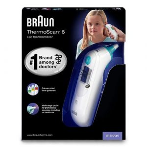 Braun IRT6515 ThermoScan 6 Ear Thermometer