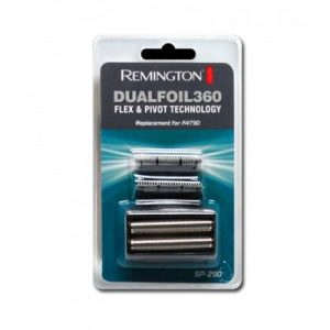 Remington SP-290 Dualfoil 360 Flex & Pivot Electric Shaver Replacement Foil Heads & Cutter Blades Pack for F4790