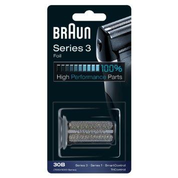 Braun Series 3 Replacement Shaver Head Cassette, 32B, Black