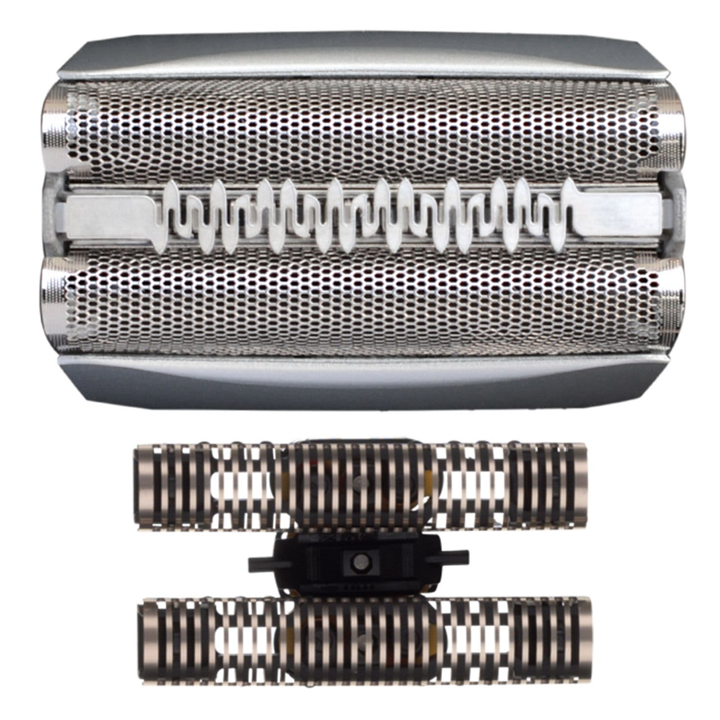 Braun Series 5 Replacement Shaver Head Cassette, 51S, Silver.  [For Series 5 (older generation), ContourPro, 360°, Complete, Activator]