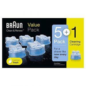 Braun Clean & Renew 6 Pack